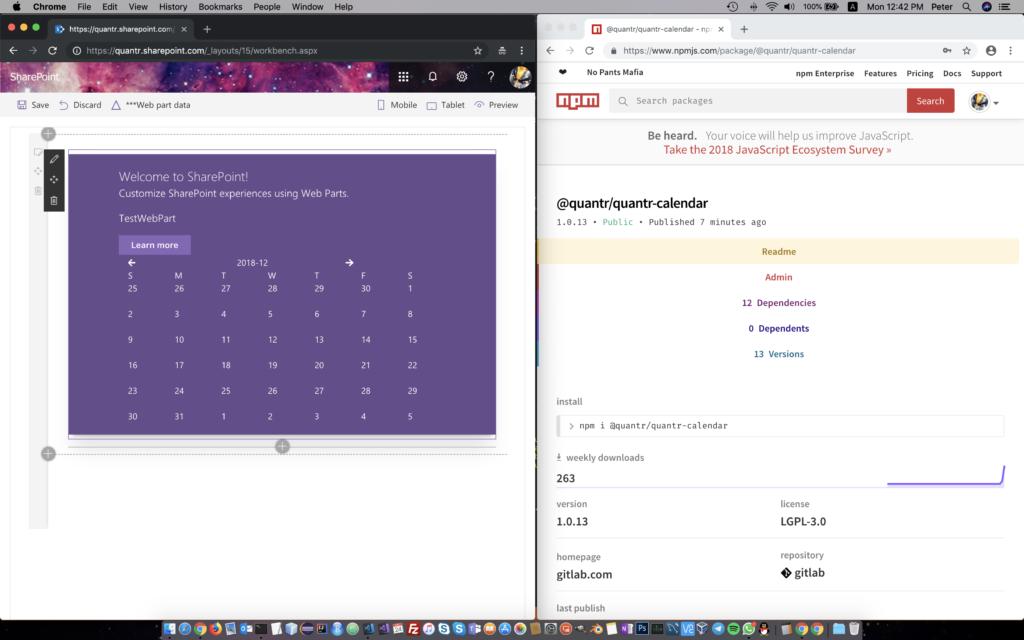 Visual Studio Reactjs Typescript: SharePoint